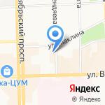 Мир на карте Кирова