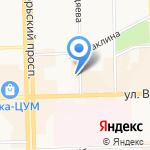 ЖЭУ-7 на карте Кирова