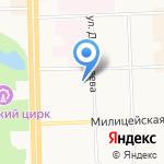 Центр технического творчества на карте Кирова