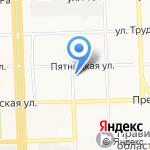 Зооимперия на карте Кирова