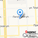 Элегант на карте Кирова
