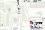 Схема проезда до компании Живой мир в Кирове