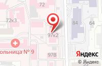 Схема проезда до компании Кировская городская больница №9 в Кирове