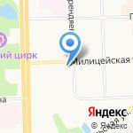 Авитек-Строй на карте Кирова