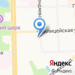 Городской Жилищный Комплекс на карте Кирова