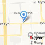 Управление капитального строительства на карте Кирова