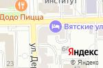 Схема проезда до компании Раздолье в Кирове