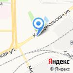 Горьковская железная дорога на карте Кирова