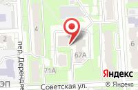 Схема проезда до компании Вяткажилстрой в Кирове