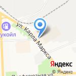 Кожгалант на карте Кирова