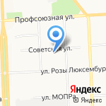 КировПромТекс на карте Кирова