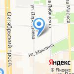 Единая Россия на карте Кирова
