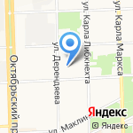 Кировская Цифровая Типография на карте Кирова