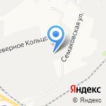 Диапазон на карте Кирова