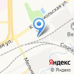 Цветы-Декор на карте Кирова