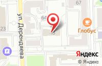 Схема проезда до компании Тенториум в Ростове-на-Дону