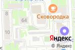 Схема проезда до компании Rex-Design в Кирове