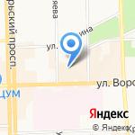 Управление жилищного хозяйства на карте Кирова