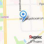 Школа дошколят на карте Кирова