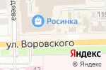 Схема проезда до компании Кофеман в Кирове
