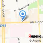 Кофеман на карте Кирова
