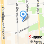 Детский сад №172 на карте Кирова