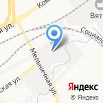 ПИК на карте Кирова