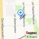 Смородина на карте Кирова