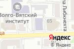 Схема проезда до компании Мобильный сервис в Кирове