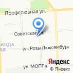 Грата на карте Кирова