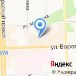 Лагуна на карте Кирова