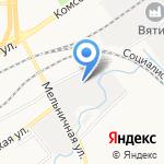 Ремприбор-сервис на карте Кирова