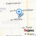 Гвард на карте Кирова