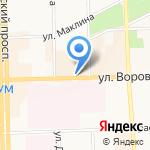 Сытный двор на карте Кирова
