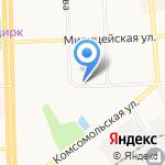 Физприбор на карте Кирова