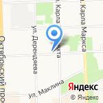 Венский свет на карте Кирова