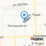 Венсис на карте Кирова