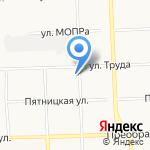 Ярославская радуга-Плюс на карте Кирова