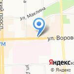Крутой кофе на карте Кирова
