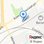 Авто Стартер на карте Кирова