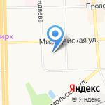 Детский сад №13 на карте Кирова