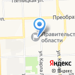 Контрольно-счетная палата Кировской области на карте Кирова