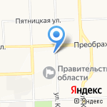 Студенческая на карте Кирова
