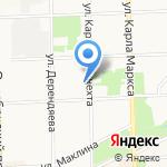 Элит Холл на карте Кирова