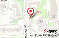 Схема проезда до компании Солнечный Дом в Кирове
