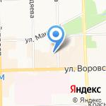 Территория связи на карте Кирова