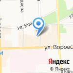 Wellcome на карте Кирова