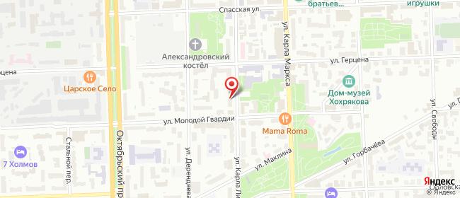 Карта расположения пункта доставки Lamoda/Pick-up в городе Киров