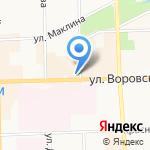 Вятка-Тур на карте Кирова
