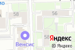 Схема проезда до компании Флористика в Кирове